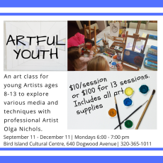 Artful Youth Fall 2017-November