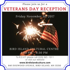VeteransDayReception